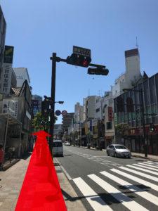 ⑧錦通り入り口信号